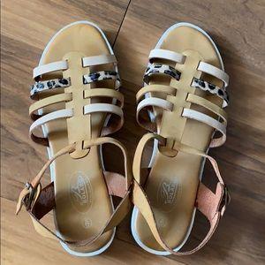 Bolaro Gladiator leaopard sandals